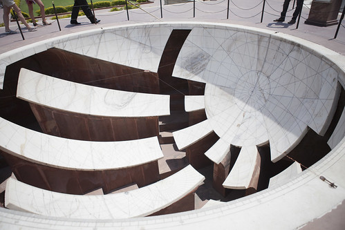 At Biggest Sundial in the World | by Sally Gwyn Heffentrager