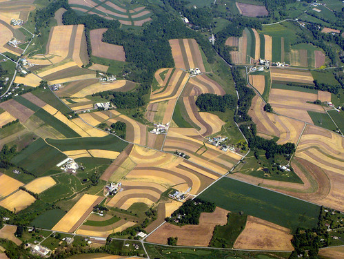 Aerial View Farm land, Abstract  _#1960 | by photoholic1
