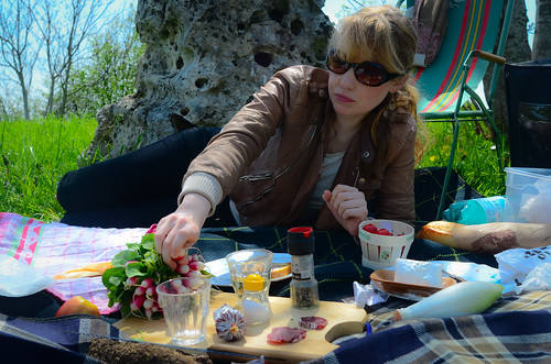 May 4th PicNic with Isla in St Auban, Burgundy | by The Hungry Cyclist