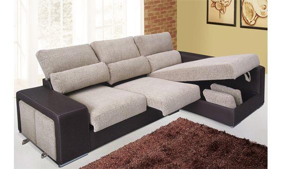Sofa Chaise Longue Tela Antimanchas fallcreekonline
