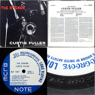 Division of United Artists  Curtis Fuller The Opener composite | by Jazz O'holic
