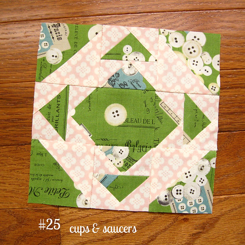 farmer's wife sampler, block 25 | by quirky granola girl