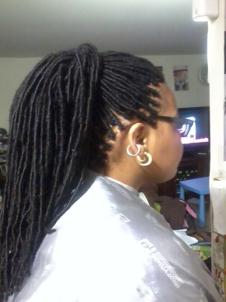 Lock Extensions Whith Human Hair Braids By Gracie Gracies