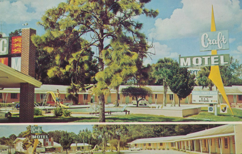 Craft Motel & Travel Trailer Park - Silver Springs, Florida