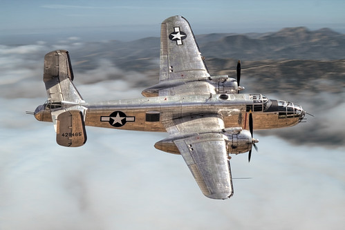 B-25 Mitchell | by glenhaas309