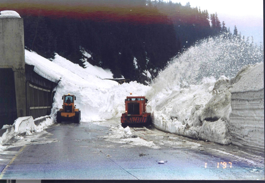 clean-up after avalanche control on snoqualmie pass | flickr