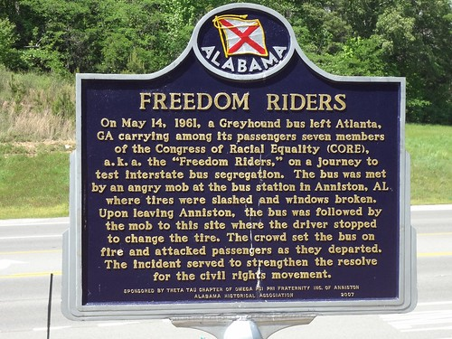 Anniston - Freedom Riders Marker