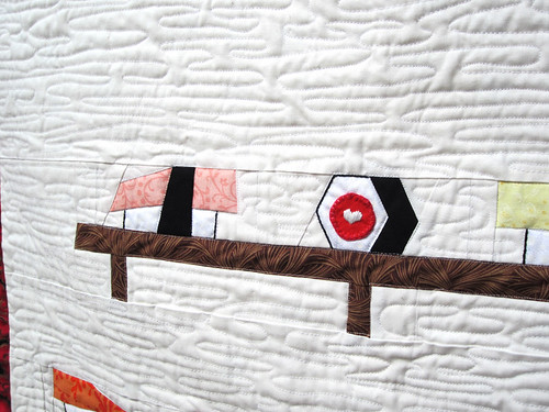 I <3 Sushi Quilt - Pattern by Sonja Callaghan | by mochistudios