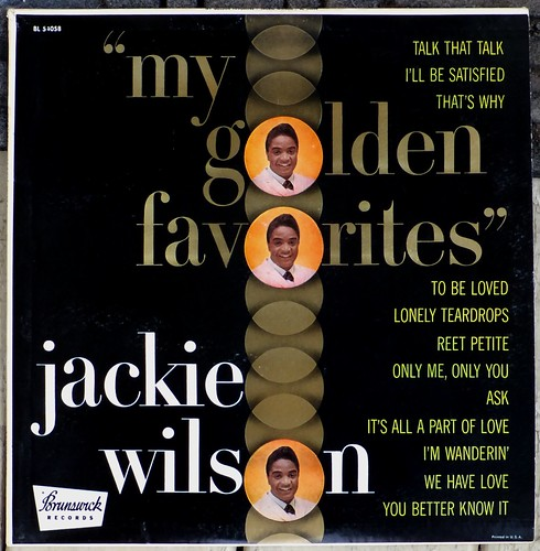 Jackie Wilson / My Golden Favorites | by bradleyloos