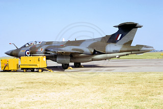 RAF 12 Squadron Blackburn Buccaneer S.2 XV165 (1973) | by The Aviation Photo Company