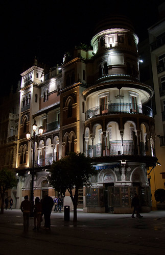 Seville Adriatica Building by Night | by petachow