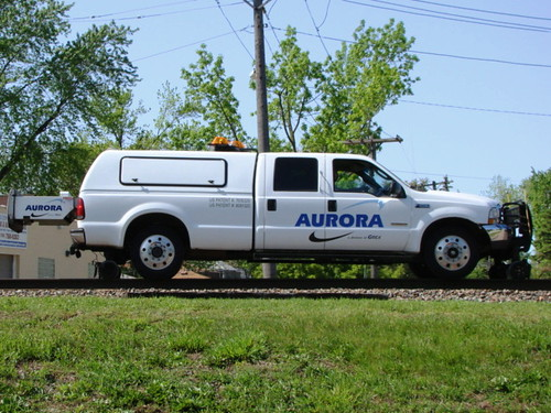 Aurora Ford MOW. | by Chicago Rail Head