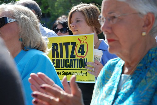 Glenda Ritz declares candidacy for Indiana Superintendent of Public Instruction 8 | by Indiana State Teachers Association