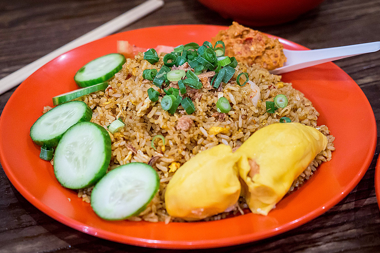 Nasi Goreng with Musang King Durian (Special): Ho Jiak, Strathfield. Sydney Food Blog Review