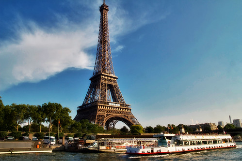 Eiffel Tower from Seine | by Artur Staszewski