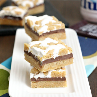 Super Simple S'mores Bars | by Tracey's Culinary Adventures