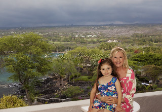 Grandmother and Granddaughter in Kona Hawaii | by SusanGaryPhotography