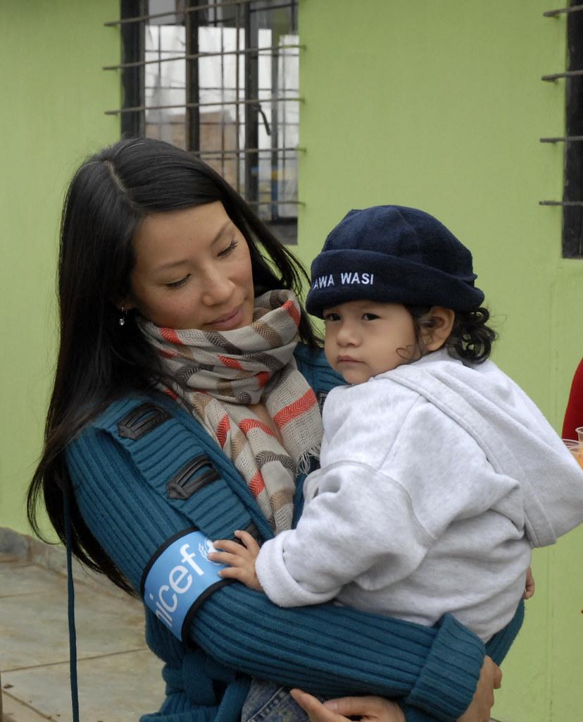 ... Lucy Liu in Peru | by U.S. Fund for UNICEF