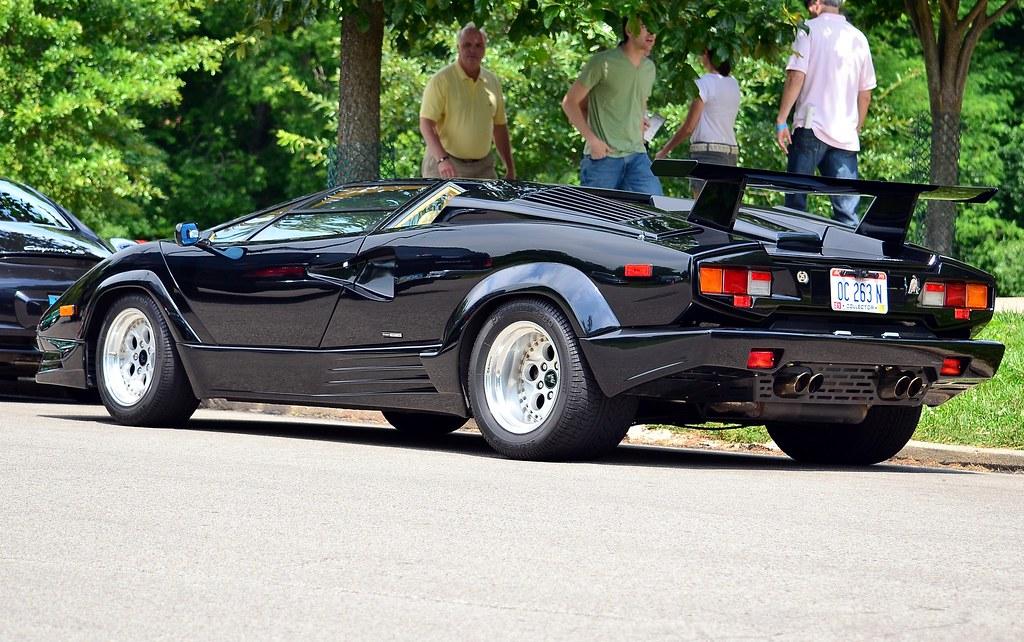 1989 Lamborghini Countach 25th anniversary black | scott597 | Flickr