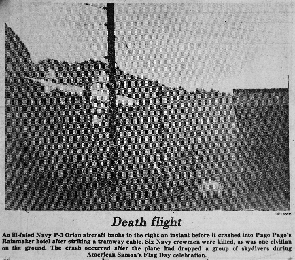 p 3 orion crash pago pago april 17 1980 an ill fated na flickr