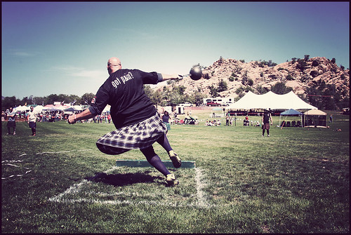 Scottish Highland Games in Prescott, AZ on 5/12/2012 | by Robert D Bruce