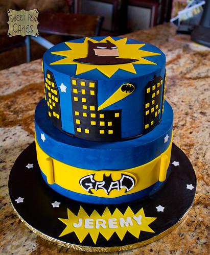 Birthday Cake Batman Design