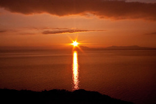 SETTING SUN OVER CARDIGAN BAY | by Eddie Evans