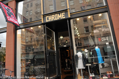New Chrome store in downtown Portland-23 | by BikePortland.org