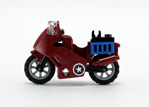 6865 Captain America's Avenging Cycle - Bike 1 | by fbtb