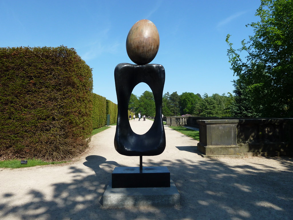 Femme 1970 by Joan Miro Yorkshire Sculpture Park West Bret… | Flickr