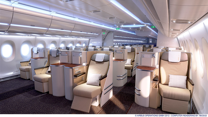 A350 XWB Business Class Day