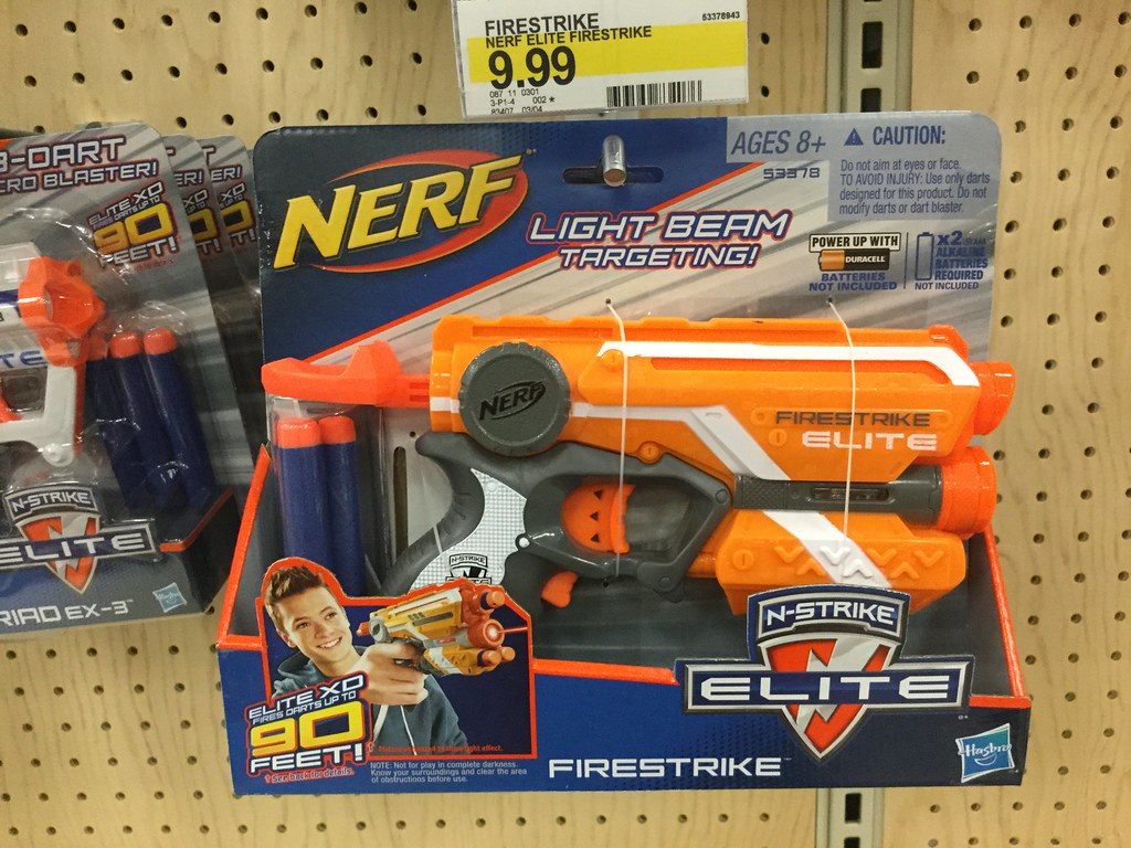 Nerf FireStrike | by JeepersMedia Nerf FireStrike | by JeepersMedia