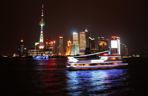 The night of LuJiaZui, Pudong, Shanghai | by Well......