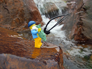 LEGO Collectible Minifigures Series 3 : Fisherman | by wiredforlego