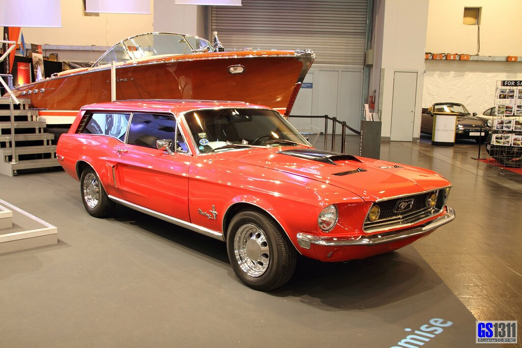 1968 Ford Mustang Station Wagon Custom (01) | Riva boat in t… | Flickr