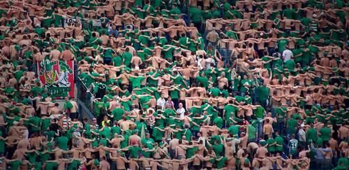 Slask supporters bouncing | by mi...