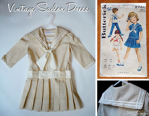 Vintage Sailor Dress | by FrancesSuzanne