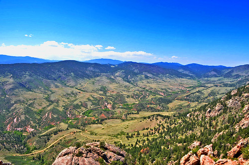 View From Horsetooth Rock | by Austin H.