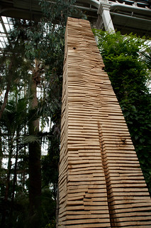 Crack and Warp Column (2010, lime) | by Kew on Flickr