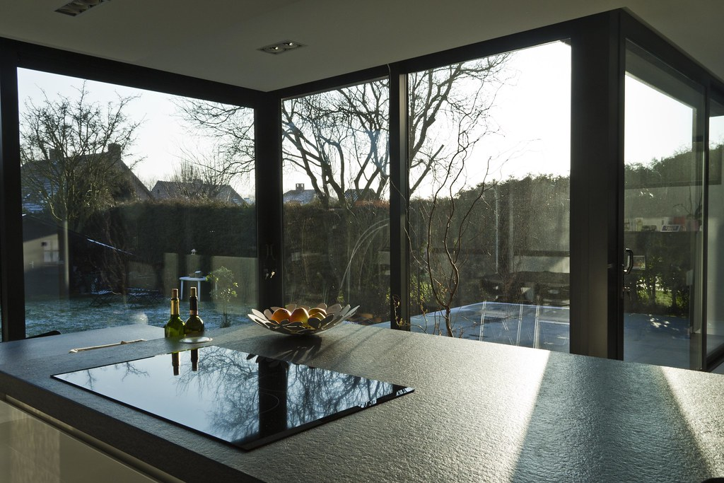 Keuken Uitbouw Design : Aluminium woonveranda modern uitbouw keuken woonveranda flickr
