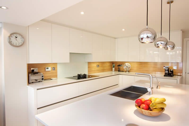 High Gloss Kitchen from LWK Kitchens London   The High Gloss…   Flickr