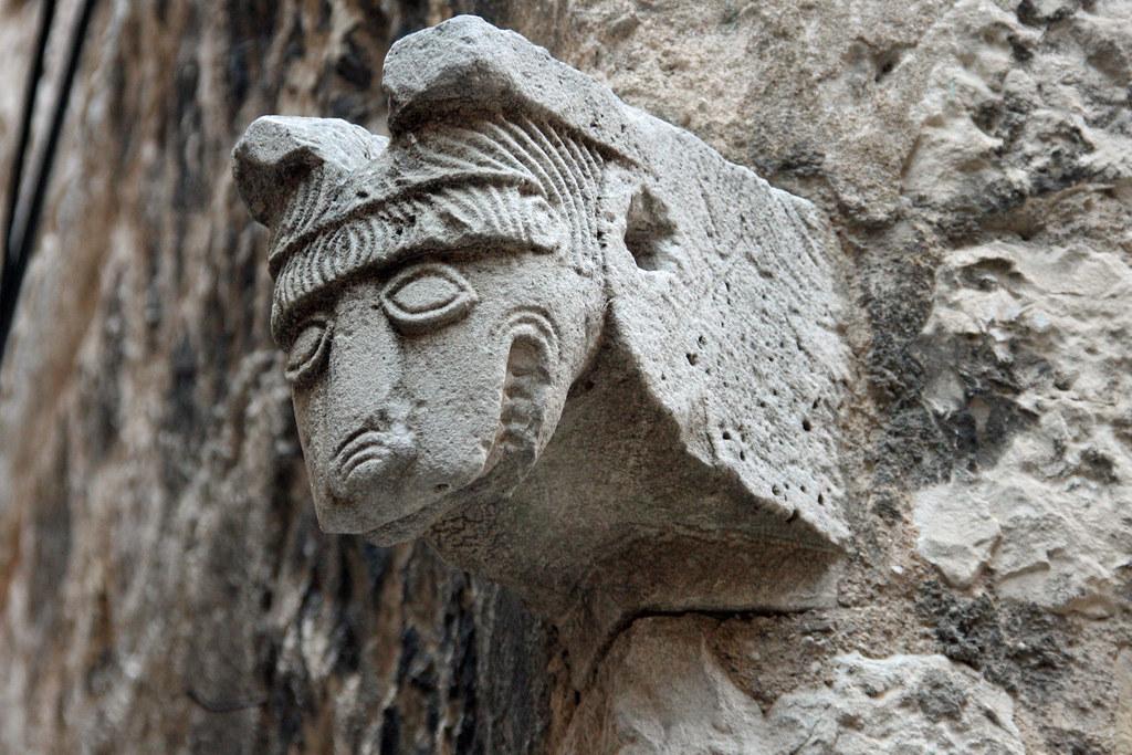 Roman wall art (Explored) | Split, Croatia is one of the old… | Flickr