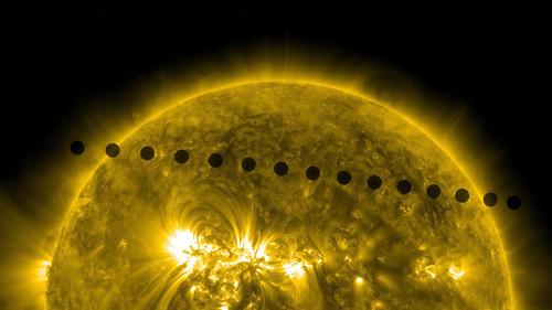 SDO's Ultra-high Definition View of 2012 Venus Transit -- Path Sequence | by NASA Goddard Photo and Video