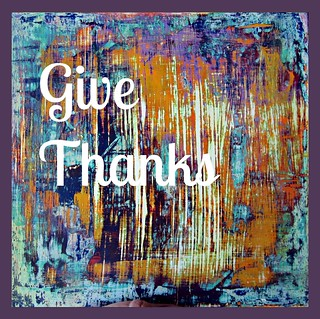 Give Thanks Plaque | by Princess La
