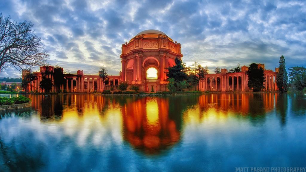 Palace Of Fine Arts San Francisco Matt Pasant Flickr