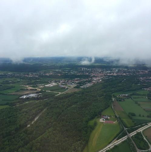 Departure from Munich Airport / Abflug vom Flughafen München