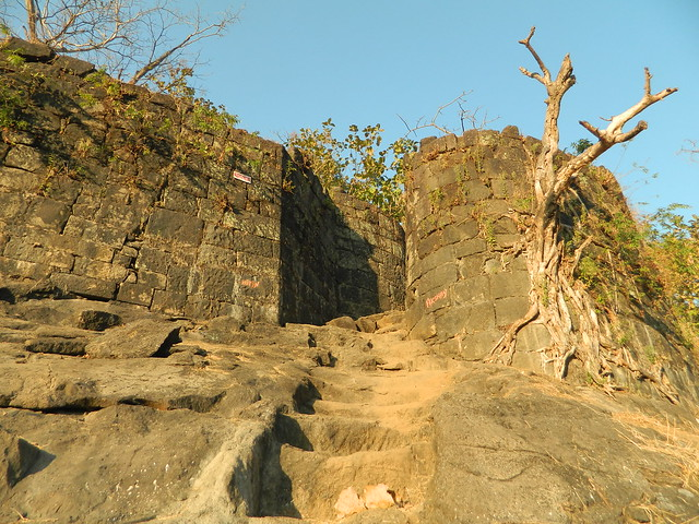 Mangad Fort Entrace