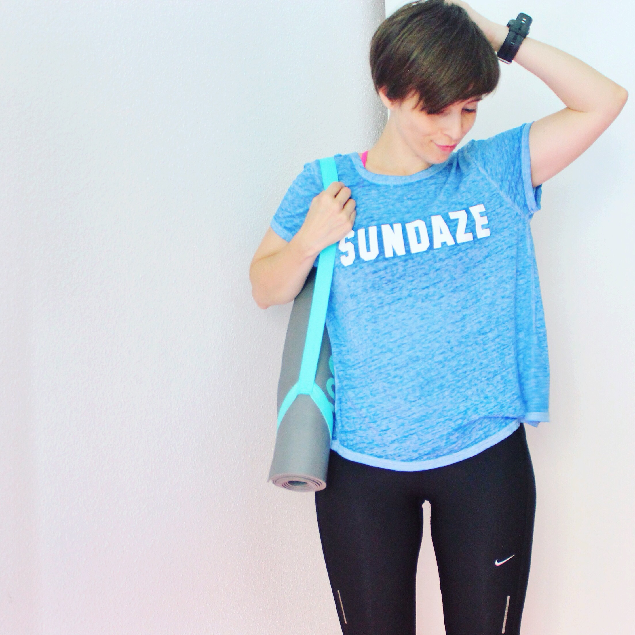 Fitness outfit nike forever21 shein hm