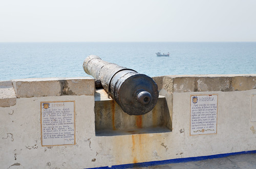 The Sitges cannon | by Jonathan Palfrey