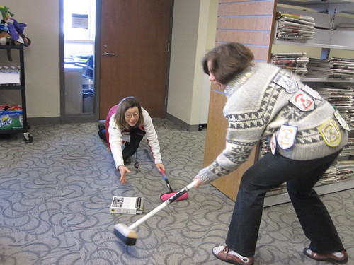 Inventive curling | by MPL - Milton Public Library